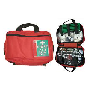 first aid regulation kit in bag - central union medical supplies