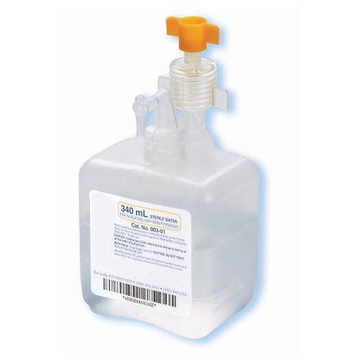 humidifier water 340ml - central union medical supplies